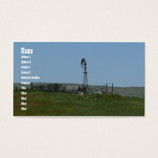 Windy Pasture Business Card