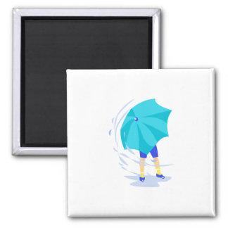 Windy Rain Storm Magnet