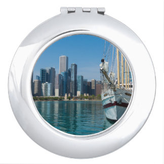 Windy Sailing Travel Mirror