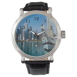 Windy Sailing Wristwatch