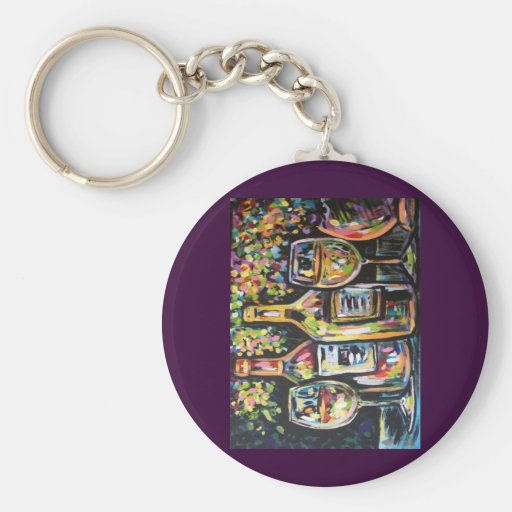 WINE AFTERNOON KEYCHAIN