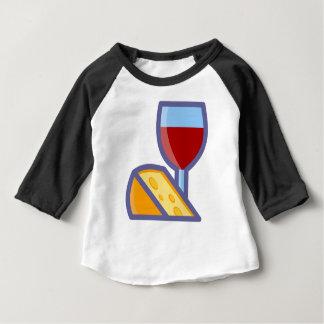 Wine and Cheese Baby T-Shirt