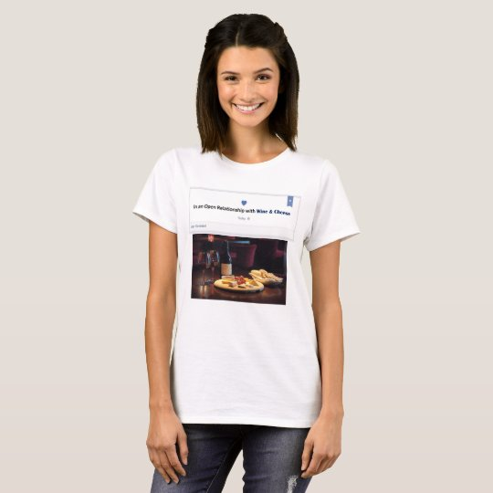 wine and cheese bf T-Shirt