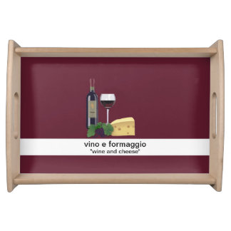 Wine and Cheese Food Trays