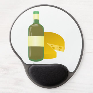 Wine and Cheese Gel Mouse Pad