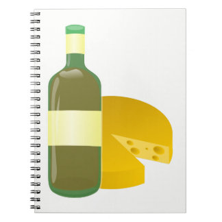 Wine and Cheese Notebook