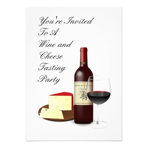 Wine And Cheese Party Invitations as best invitation sample
