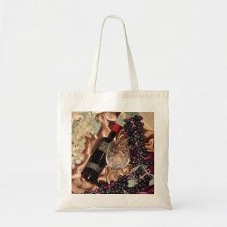 Wine and Grape Theme Bag