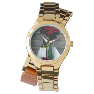 Wine and Roses Womens Watch