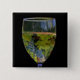 Wine Art Button