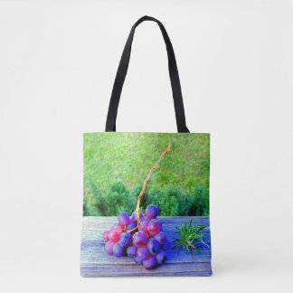 Wine Bag Grapes and Rosemary