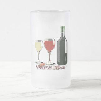 Wine Bar - Wine Frosted Mug