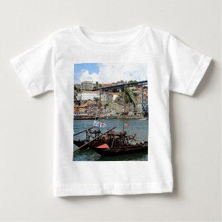 Wine barrel boats, Porto, Portugal Baby T-Shirt
