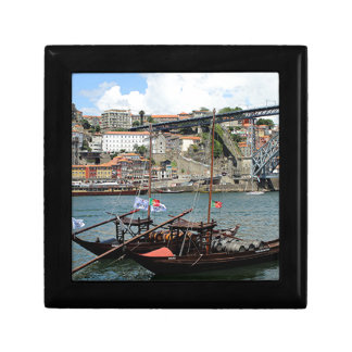 Wine barrel boats, Porto, Portugal Gift Box