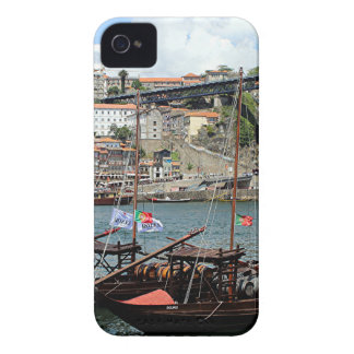 Wine barrel boats, Porto, Portugal iPhone 4 Covers