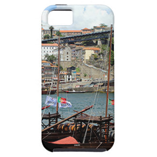 Wine barrel boats, Porto, Portugal iPhone 5 Cover