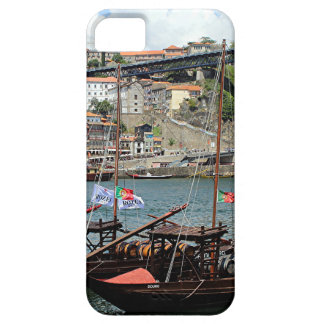 Wine barrel boats, Porto, Portugal iPhone 5 Covers