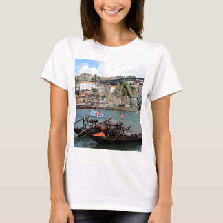 Wine barrel boats, Porto, Portugal T-Shirt