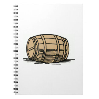 Wine Barrel Notebook