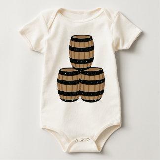 Wine Barrels Baby Bodysuit