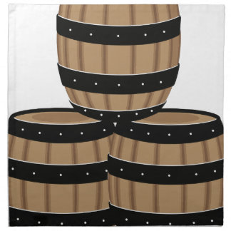Wine Barrels Napkin