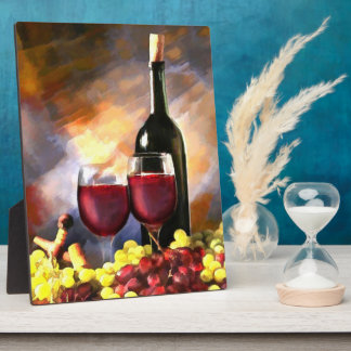Wine Before & After Plaque