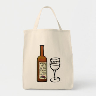 Wine Between Friends Tote Bag