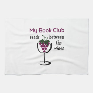 WINE BOOK CLUB KITCHEN TOWEL