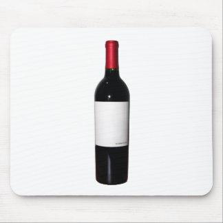 Wine Bottle (Blank Label) Mousepad