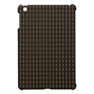 Wine Bottle Cap Golden Brown Pattern DIY Template Case For The iPad Mini