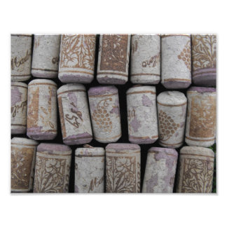 Wine Bottle Corks Phototography Print