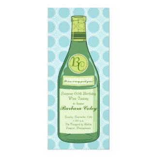 Wine Bottle Rings Party & Shower Invitation