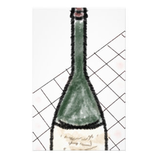 Wine Bottle Stationery