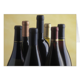 Wine Bottles Card