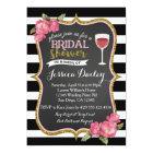 Wine Bridal Shower Invitation