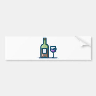 Wine Bumper Sticker