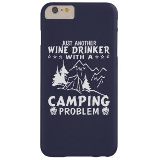 Wine & Camping Barely There iPhone 6 Plus Case