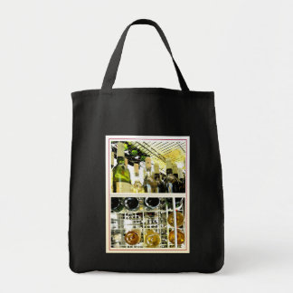 Wine carrier tote bag