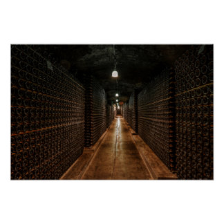 WINE CELLAR of the RICH Poster