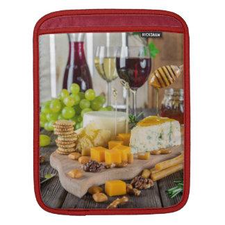 Wine & Cheese Appetizers, iPad Mini Sleeve