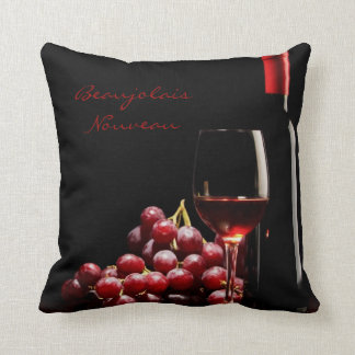Wine Connoisseur's Large Throw Pillow