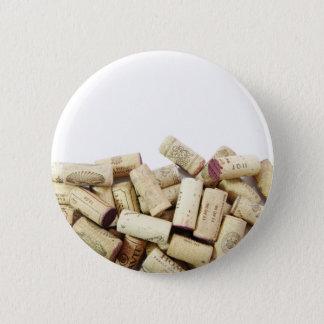 Wine Corks Button
