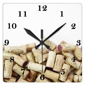 Wine Corks Clock