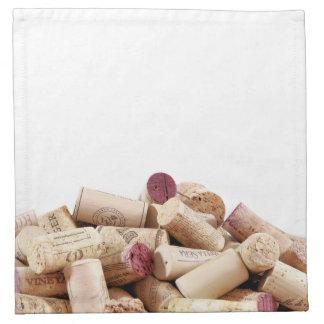 Wine Corks Napkin