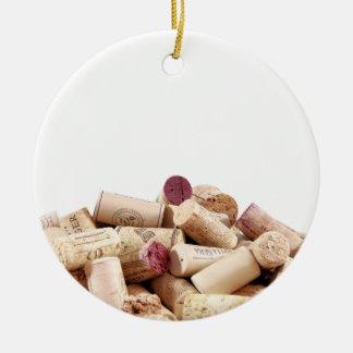 Wine Corks Ornament