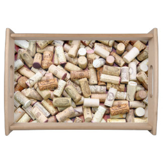Wine Corks Serving Tray