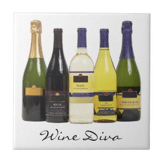 Wine Diva Tile Trivet