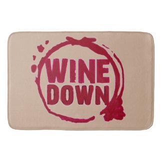 """WINE DOWN"" POP OF COLOR RUG"
