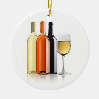 WINE ENTHUSIAST CHRISTMAS ORNAMENT