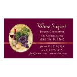 Wine Expert Business Card Templates